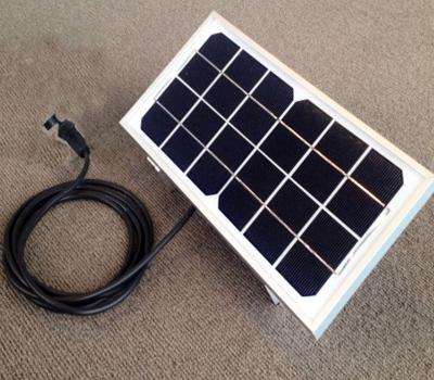 外置太阳能板